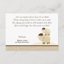 Baa Baa Sheep (Neutral color) RSVP Enclosure Cards
