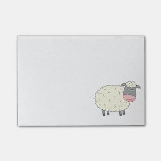 Baa Baa Sheep Post-it Notes