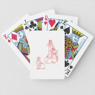 Baa Black Sheep Bicycle Playing Cards