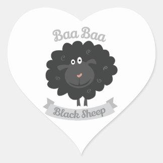 Baa Black Sheep Stickers
