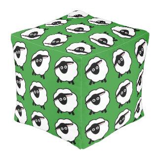 Baa! Cube Pouffe