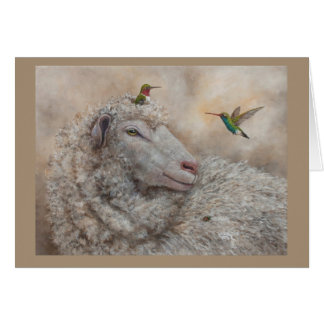 Baa Hum Bug Card