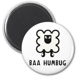 Baa Humbug 2 Inch Round Magnet