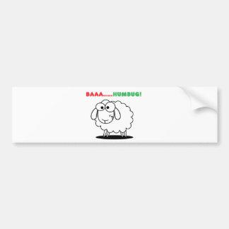 Baa....Humbug! Bumper Sticker
