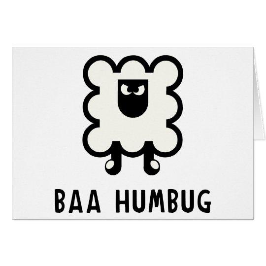 Baa Humbug Card