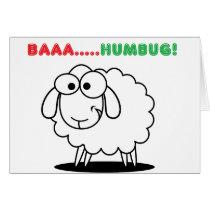 Baa....Humbug! Card