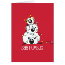 Baa Humbug - Christmas Sheep Card
