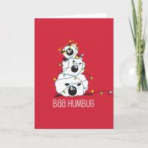 Baa Humbug - Christmas Sheep Holiday Card