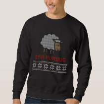 Baa Humbug Christmas Sheep Sweatshirt
