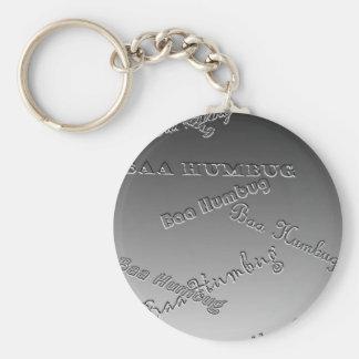 Baa Humbug (Embossed) Keychain
