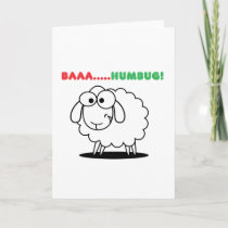 Baa....Humbug! Holiday Card
