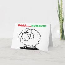 Baa....Humbug! Holiday Card