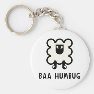 Baa Humbug Keychain