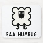 Baa Humbug Mouse Pad