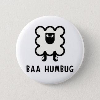 Baa Humbug Pinback Button