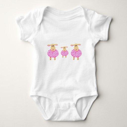 baa lambs baby bodysuit