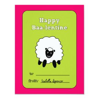 Baa-lentine Kids Valentine Card