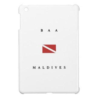Baa Maldives Scuba Dive Flag Cover For The iPad Mini