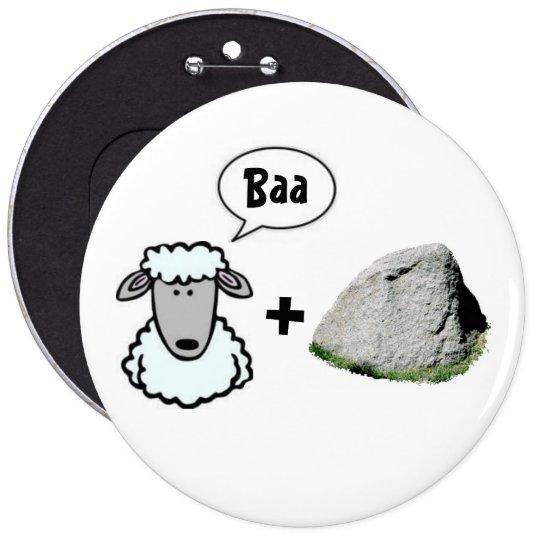 Baa + Rock Button