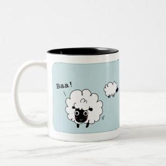 Baa! Two-Tone Coffee Mug