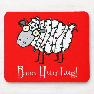 Baaa Humbug Anti-Holiday Mousepad