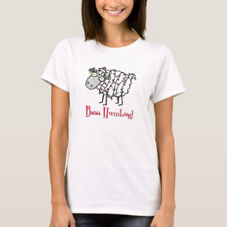 Baaa Humbug Anti-Holiday Tee Shirt