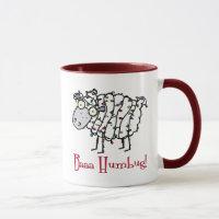 Baaa Humbug Christmas Mug