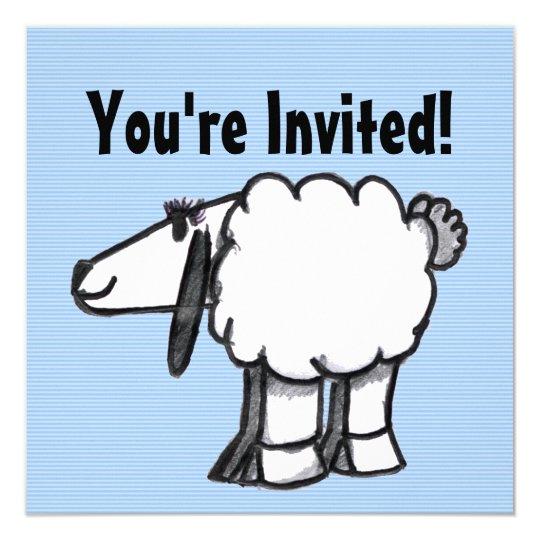 Baaaby Sheep Cartoon Card