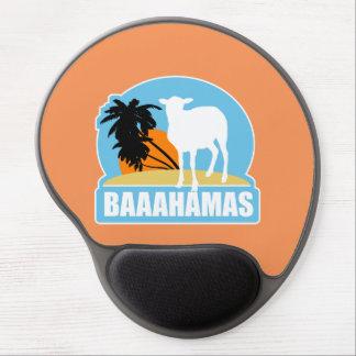 Baaahamas Beach Gel Mouse Pad