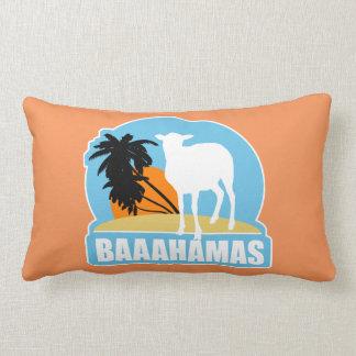 Baaahamas Beach Pillow