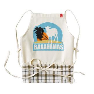 Baaahamas Beach Zazzle HEART Apron