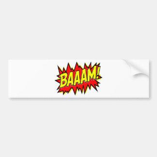 BAAAM! BUMPER STICKER