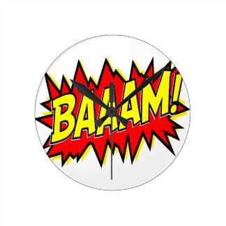 BAAAM! WALL CLOCKS