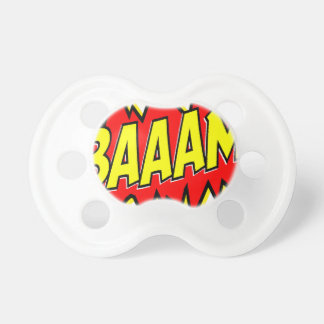 BAAAM! BABY PACIFIER