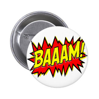 BAAAM! PINBACK BUTTON