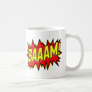 ¡BAAAM! TAZA DE CAFÉ