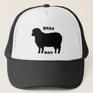 """BAAD Boy"" on white Trucker Hat"