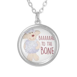 Baad To Bone Round Pendant Necklace