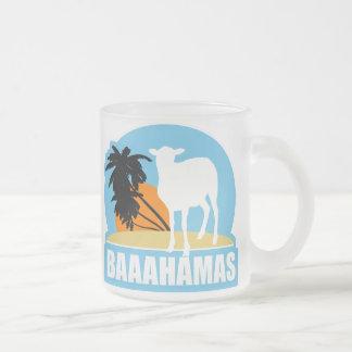 Baahamas Beach Frosted Glass Coffee Mug