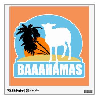 Baahamas Beach Wall Decal