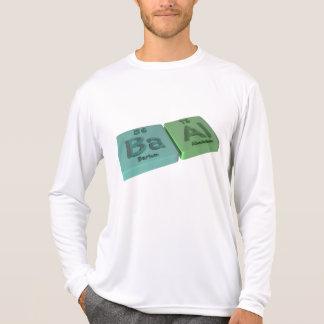 Baal as Ba Barium and Al Aluminium T-shirt