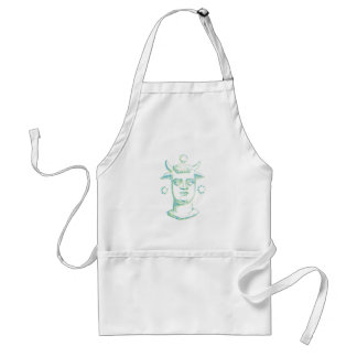 Baal (letterpress style, two colors) adult apron
