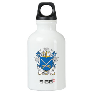 Baalen Family Crest Aluminum Water Bottle