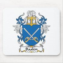 Baalen Family Crest Mousepad