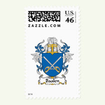 Baalen Family Crest Stamps