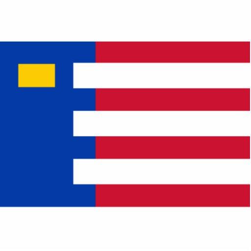 Baarle Nassau, bandera holandesa Fotoescultura Vertical