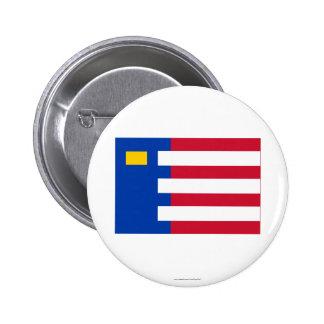 Baarle-Nassau Flag Pinback Buttons