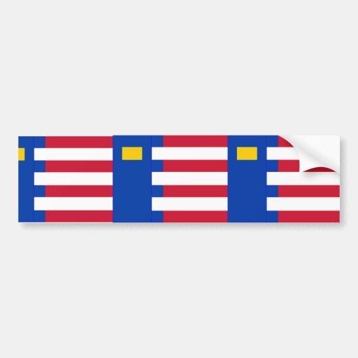 Baarle Nassau, Netherlands Bumper Stickers