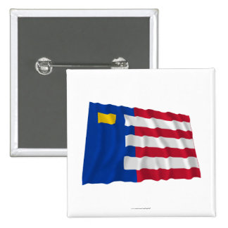 Baarle-Nassau Waving Flag Pins