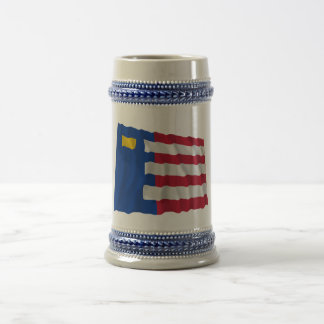 Baarle-Nassau Waving Flag Mug
